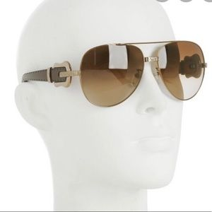 Fendi Aviator Buckle Sunglass